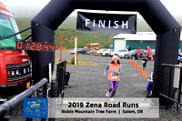 2019 Zena Road Runs:  15k Finish:  1:20:00+