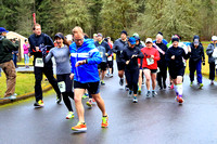 2017 Roaring River Run:  Early Half Start