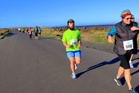 2017 Newport Bay to Brews 10k South Jetty:  8:32am-8:55am