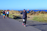 2017 Newport Bay to Brews 10k South Jetty:  8:56am-9:20am
